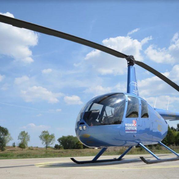 let helikopterom u beogradu