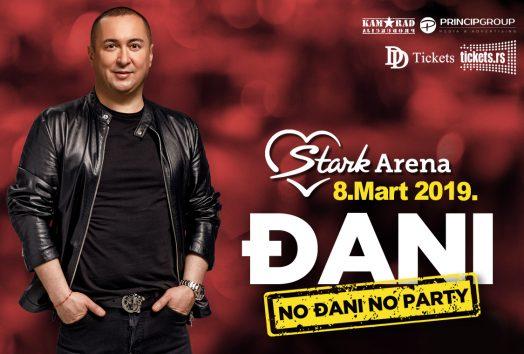 Đani u beogradskoj Štark areni 8. marta 2019.