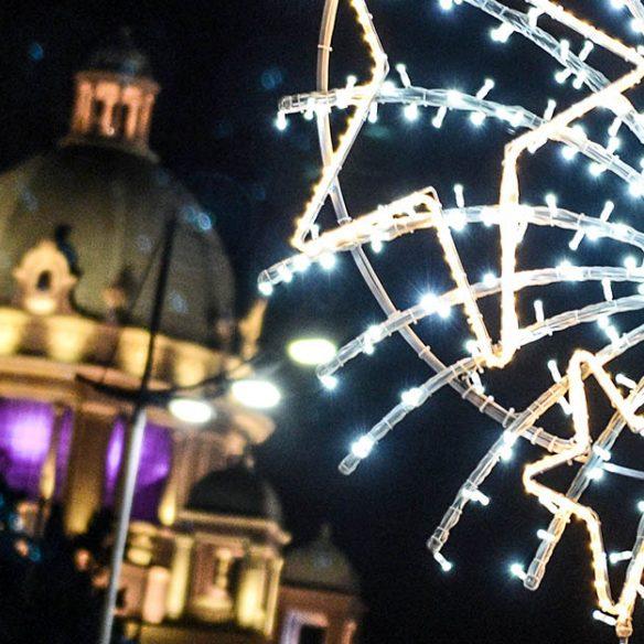 novogodišnja rasveta u beogradu