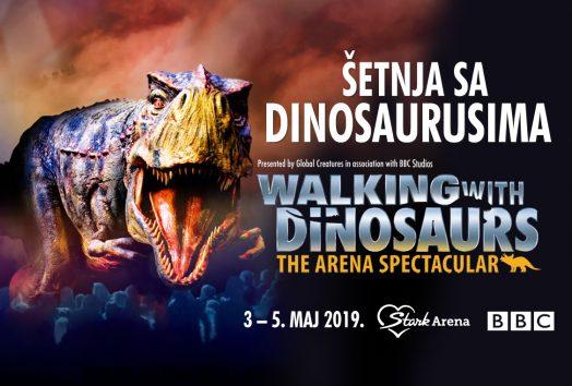 setnja sa dinosaursima u areni 2019
