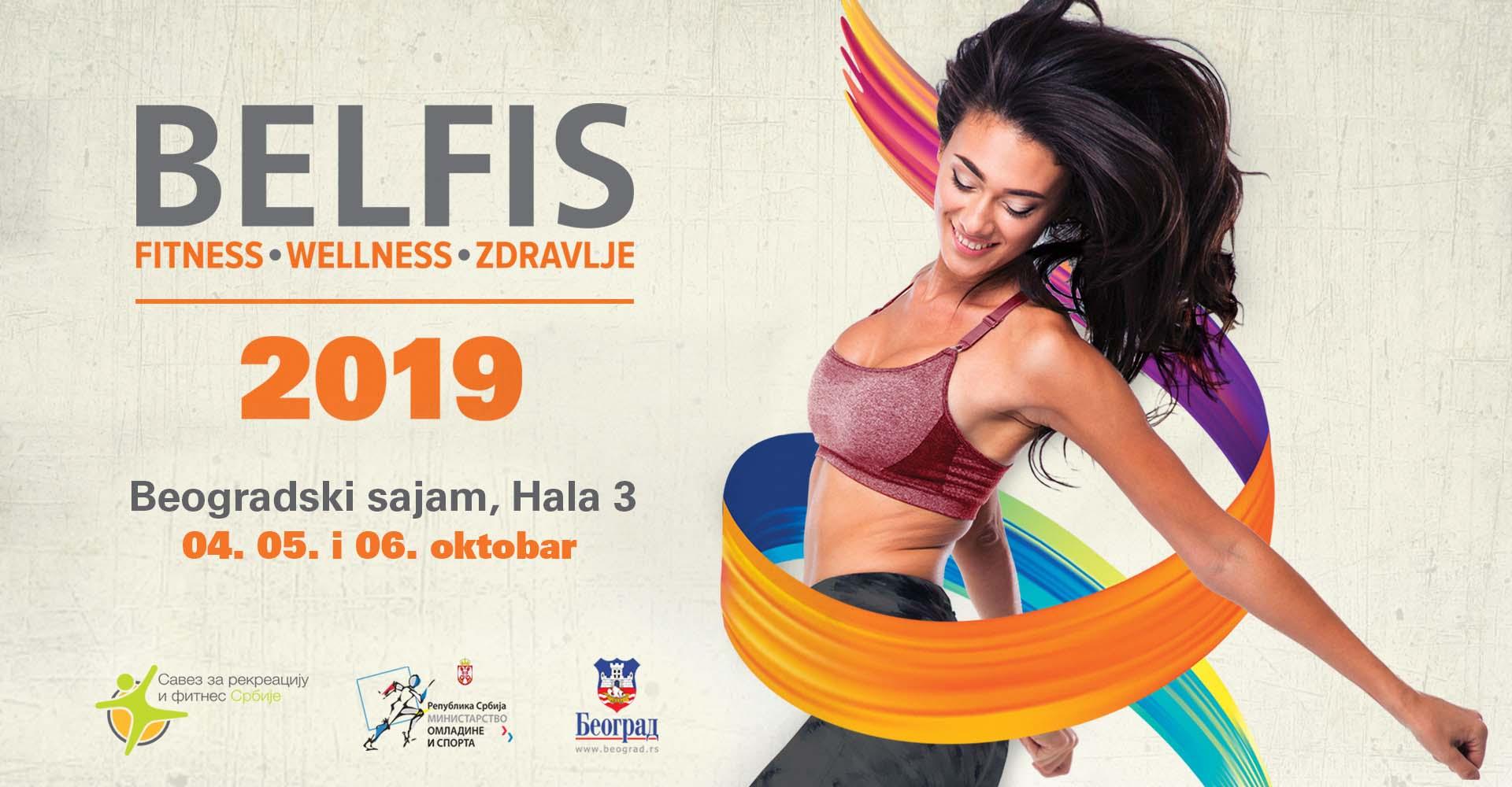 Sajam fitness-a, wellness-a i zdravlja u Beogradu: Belfis 2019.