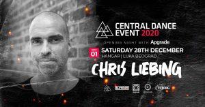 Chris Liebing u saradnji sa Apgrade-om 28. decembra na Central Dance Event-u