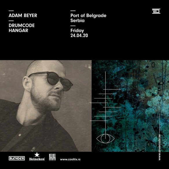 Legendarni Adam Beyer dovodi svoju Drumcode ekipu u Beograd