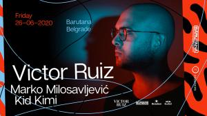 Brazilski tehno superstar Victor Ruiz ovog petka u Barutani