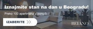 Iznajmljivanje stanova Beograd
