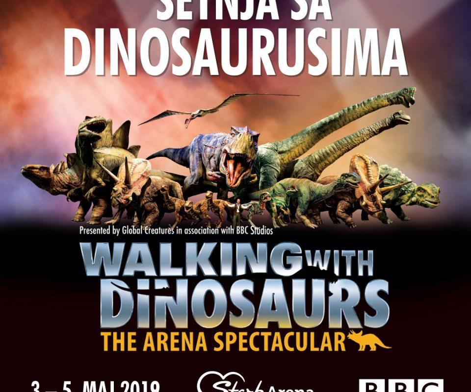 setnja sa dinosaurusima